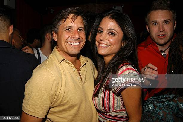 Kevin Mazur and Bethenny Frankel attend Paris Hilton Album Release Party at Marquee on August 16 2006