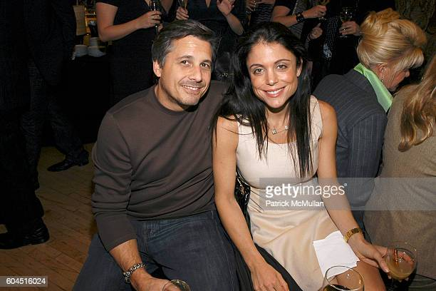 Kevin Mazur and Bethenny Frankel attend The Cinema Society and David Yurman host the afterparty for Gentlemen Prefer Blondes at Bloomingdale's Soho...
