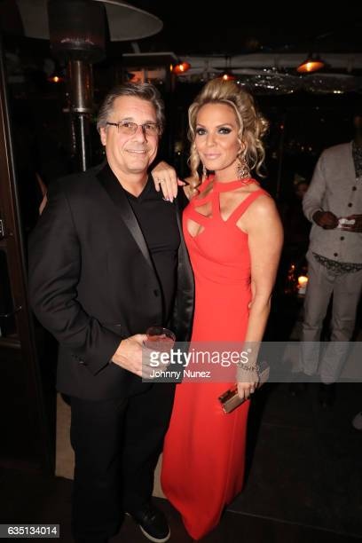 Kevin Mazur and Jennifer Mazur attend the Republic Records GRAMMY After Party at Catch LA on February 12 2017 in West Hollywood California