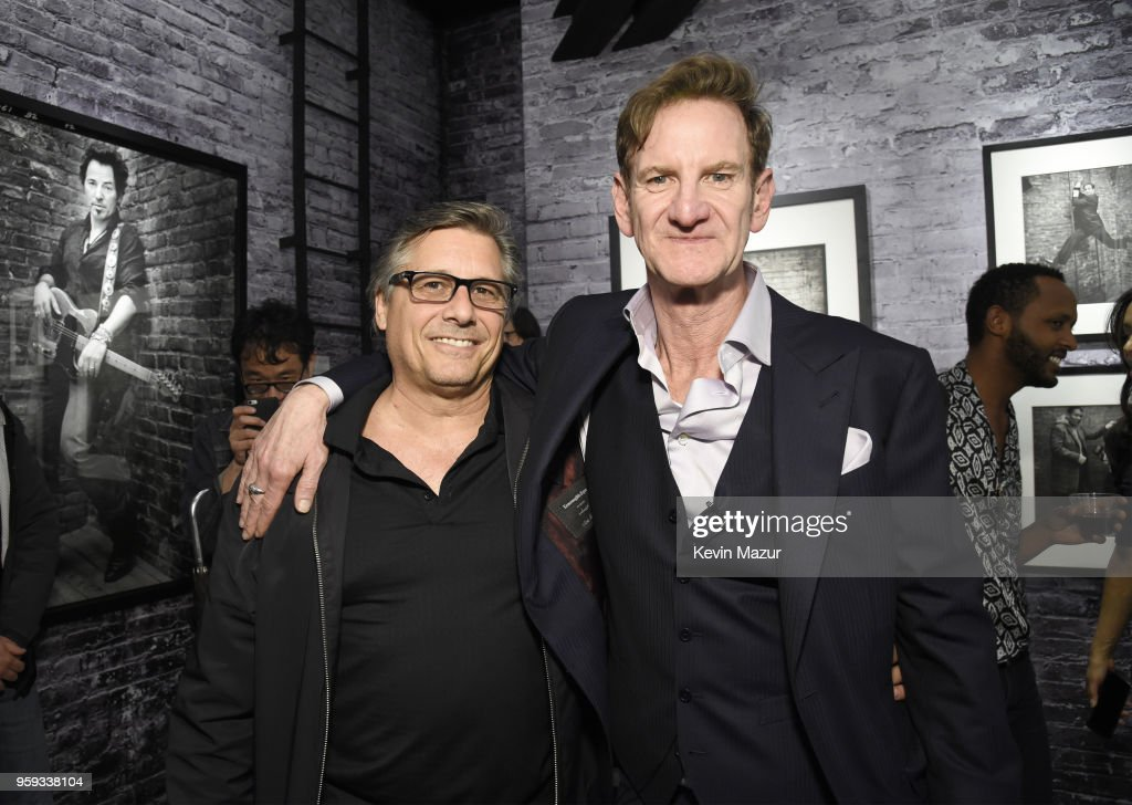 Kevin Mazur and Mark Seliger pose during a private viewing of 'Photographs' at Chase Contemporary on May 16, 2018 in New York City.