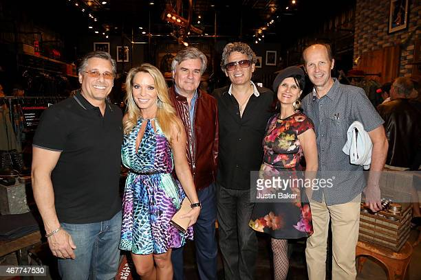 Kevin Mazur Jennifer Mazur and friends attend A Tribute To Rock Roll hosted by Schott NYC Featuring Photographs from Photographer Kevin Mazur at The...