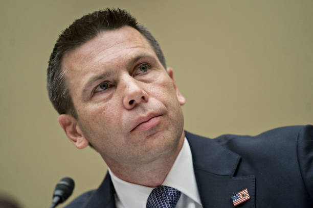DC: Acting Secretary Of Homeland Security Kevin McAleenan Testifies Before House Oversight Committee