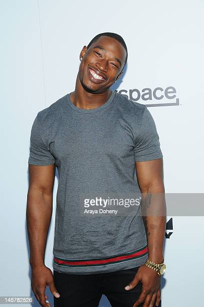 """Kevin McCall arrives at the LA Premiere of Ice-T's directorial debut film """"Something From Nothing: The Art Of Rap"""" at ArcLight Cinemas on June 5,..."""