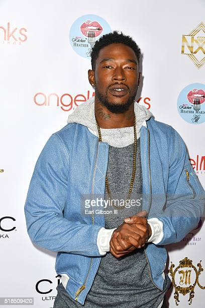Kevin McCall attends Angel Brinks Fashion 5 Year Anniversary on March 31 2016 in Los Angeles California