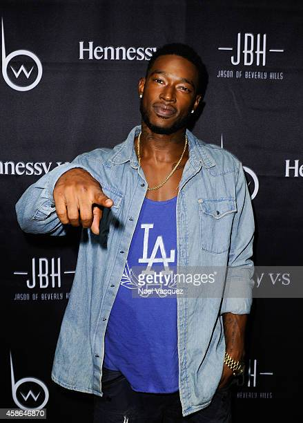 Kevin McCall attends Hennessy VS Presents Brandon Williams' Simple is Perfect Capsule Collection Launch at Austere on November 7 2014 in Los Angeles...