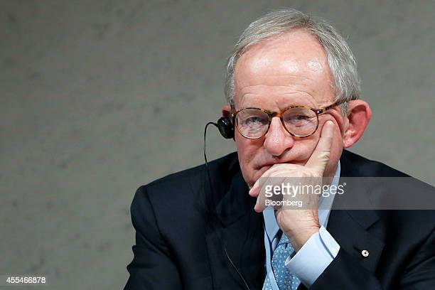 Kevin McCann chairman of Macquarie Group Ltd attends a panel discussion at the World Assembly for Women forum in Tokyo Japan on Friday Sept 12 2014...
