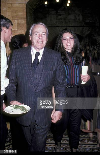 Kevin McCarthy and Wife Kate Crane during Hour Magazine Party at Home of Lucille Mead Lamb in Los Angeles California United States