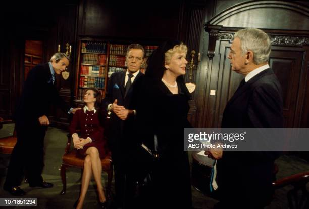 Kevin McCarthy Diana Muldaur Louis Hayward Natalie Schafer Paul Stewart appearing in the Walt Disney Television via Getty Images series 'The...