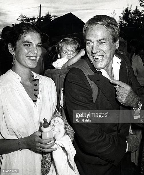 Kevin McCarthy Wife Kate Crane and Daughter during The Laundry Opening July 12 1980 at The Laundry Night Club in East Hampton New York United States