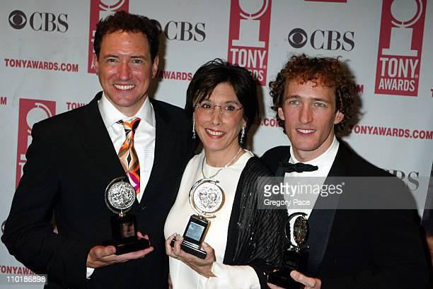 Kevin McCollum Robyn Goodman Jeffrey Seller winners Best Musical for Avenue Q