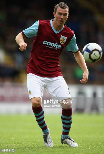 Kevin McDonald of Burnley in action during the Pre Season Friendly match between Burnley and Leeds United at Turf Moor on August 1 2009 in Burnley...