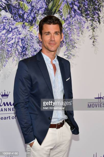 Kevin McGarry attends the 2018 Hallmark Channel Summer TCA at Private Residence on July 26 2018 in Beverly Hills California