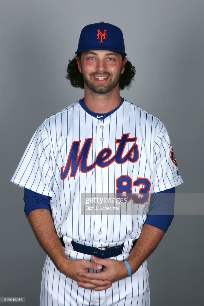Kevin McGowan #83 of the New York Mets poses during Photo Day on Wednesday, February 22, 2017 at Tradition Field in Port St. Lucie, Florida.