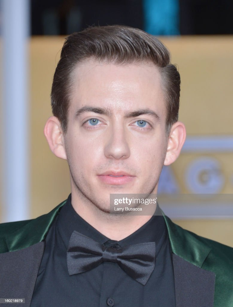 Kevin McHale attends the 19th Annual Screen Actors Guild Awards at The Shrine Auditorium on January 27, 2013 in Los Angeles, California. (Photo by Larry Busacca/WireImage) 23116_018_1940.JPG