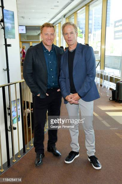 Kevin McKidd and Greg Germann attend the CTV Upfront 2019 at Sony Centre For Performing Arts on June 06 2019 in Toronto Canada