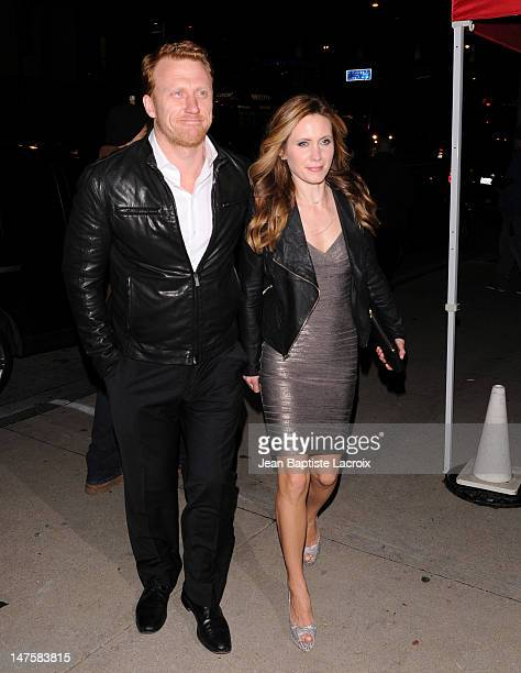Kevin McKidd and Jane Parker are seen March 6, 2010 in West Hollywood, California.