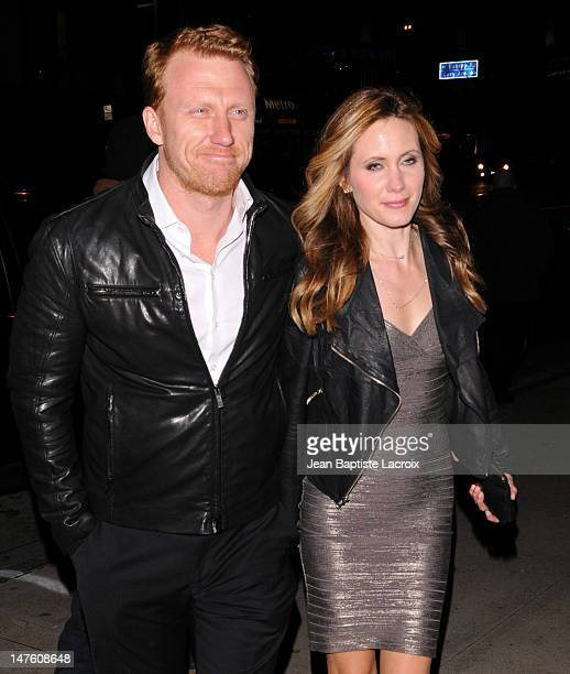 Kevin McKidd and Jane Parker are seen March 6 2010 in West Hollywood California