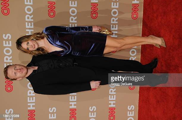 Kevin McKidd and Jane Parker arrive at the 2010 CNN Heroes: An All-Star Tribute at the Shrine Auditorium on November 20, 2010 in Los Angeles,...