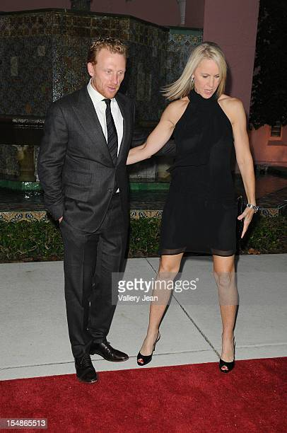 Kevin McKidd and wife Jane Parker arrive at 23rd Annual Chris Evert/Raymond James Pro-Celebrity Tennis Classic Gala at Boca Raton Resort on October...
