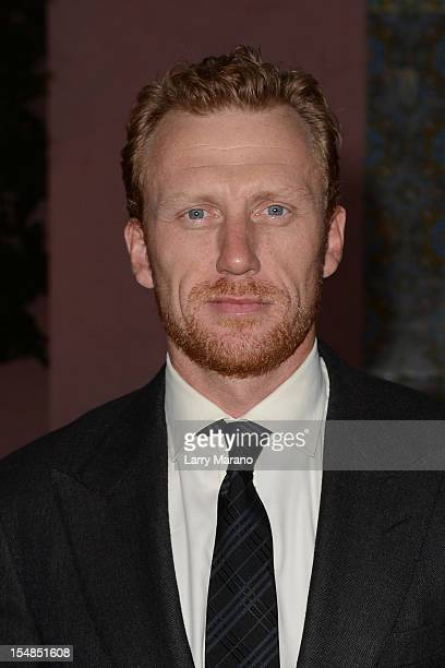 Kevin McKidd arrives at 23rd Annual Chris Evert/Raymond James ProCelebrity Tennis Classic Gala at Boca Raton Resort on October 27 2012 in Boca Raton...