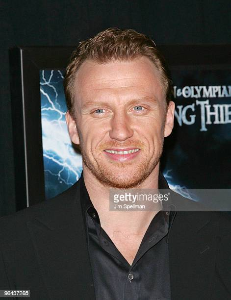Kevin McKidd attends the premiere of Percy Jackson The Olympians The Lightning Thief at AMC Lincoln Square on February 4 2010 in New York City