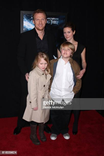 Kevin McKidd Iona McKidd Joseph McKidd and Jane McKidd attend A Special Screening of PERCY JACKSON and the OLYMPIANS THE LIGHTNING THIEF at AMC Loews...