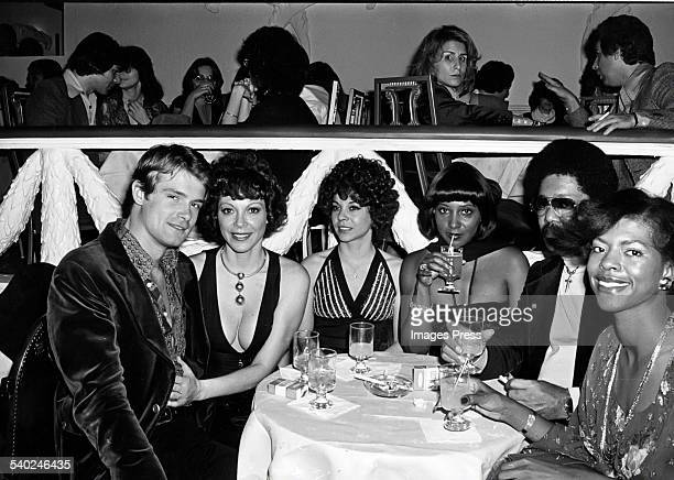 Kevin McLean Fanne Foxe sister Norma Foxe Carol Douglas and unidentified couple at The Copacabana circa 1976 in New York City