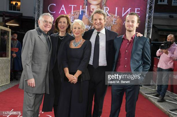 """Kevin McNally, Gina McKee, Dame Helen Mirren, Jason Clarke and Joseph Quinn attend the Premiere Screening of new Sky Atlantic drama """"Catherine The..."""