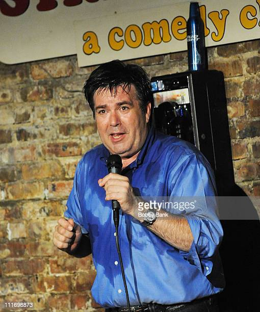 Kevin Meaney performs at The Stress Factory Comedy Club on August 14, 2009 in New Brunswick, New Jersey.