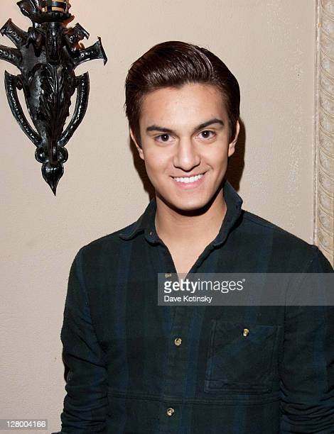 Kevin Michael Barba attends Fashion Beauty Week 2011 at the Pleasantdale Chateau on October 4 2011 in West Orange New Jersey