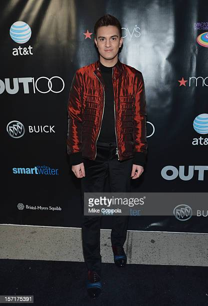 Kevin Michael Barba attends OUT Magazine and Buick's celebration of The OUT100 on November 29 2012 in New York City