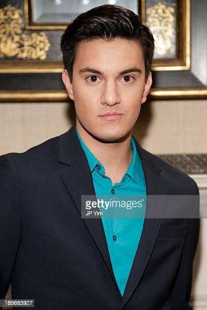 Kevin Michael Barba attends the Alvin Valley S/S 2014 New York Trunk Show on October 23 2013 in New York City