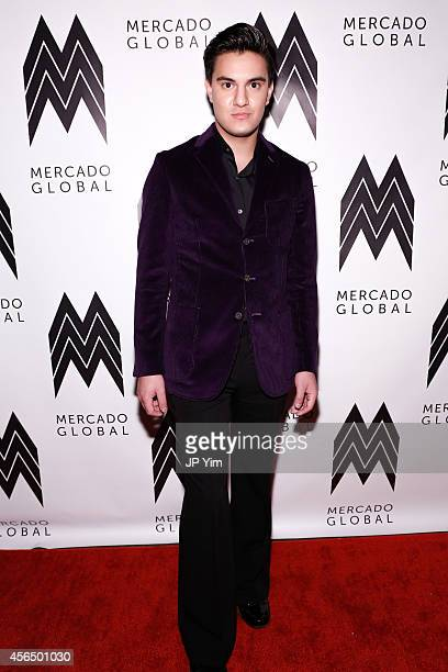 Kevin Michael Barba attends the Mercado Global Fashion Forward Gala at Hotel Americano on October 1 2014 in New York City