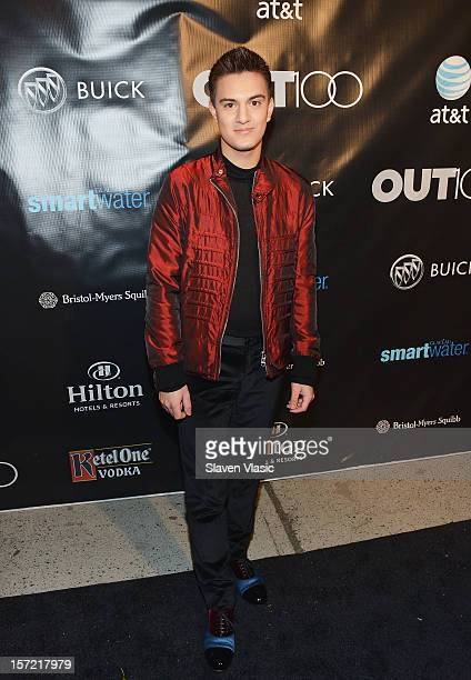 Kevin Michael Barba attends the OUT100 2012 Most Compelling People Of The Year awards at Milk Gallery on November 29 2012 in New York City