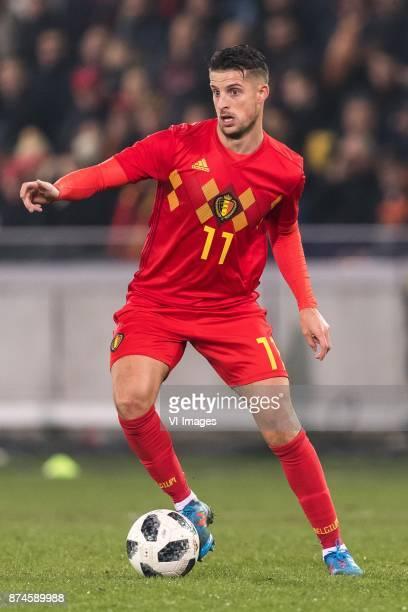 Kevin Mirallas of Belgium during the friendly match between Belgium and Japan on November 14 2017 at the Jan Breydel stadium in Bruges Belgium