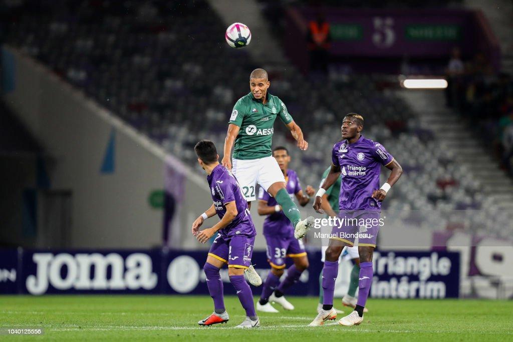Toulouse FC v Saint-Etienne - Ligue 1