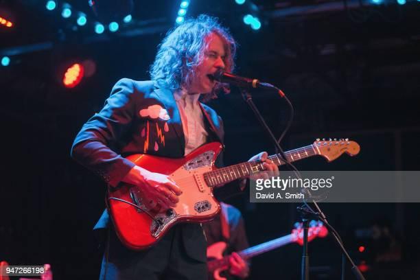 Kevin Morby performs at Saturn Birmingham on April 16 2018 in Birmingham Alabama