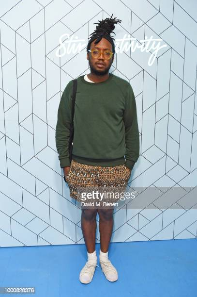 Kevin Morosky attends the launch of Bombay Sapphire's 'Canvas' a destination designed to stir creativity and inspire creative selfexpression in...