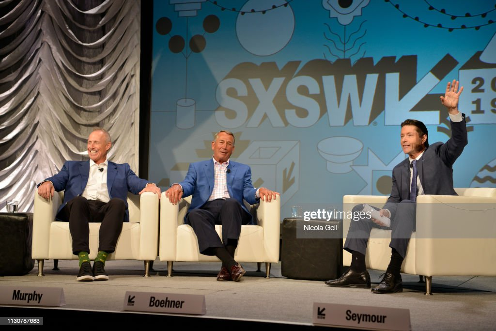 TX: Convergence Keynote: Kevin Murphy and John Boehner - 2019 SXSW Conference and Festivals