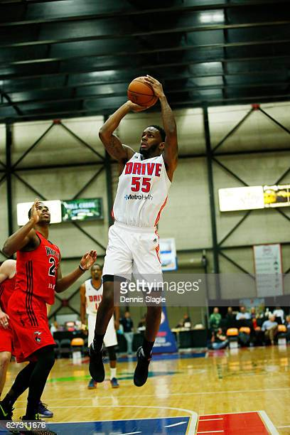 Kevin Murphy of the Grand Rapids Drive handles the ball against the Windy City Bulls at The DeltaPlex Arena on December 2 2016 in Grand Rapids...