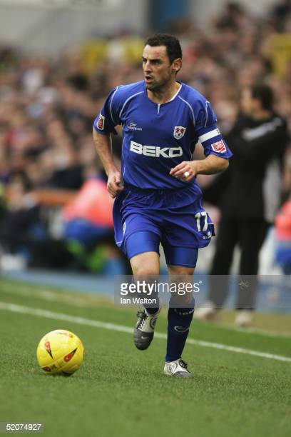 Kevin Muscat of Millwall in action during the CocaCola Championship match between Millwall and Wolverhampton at the New Den on January 22 2005 in...