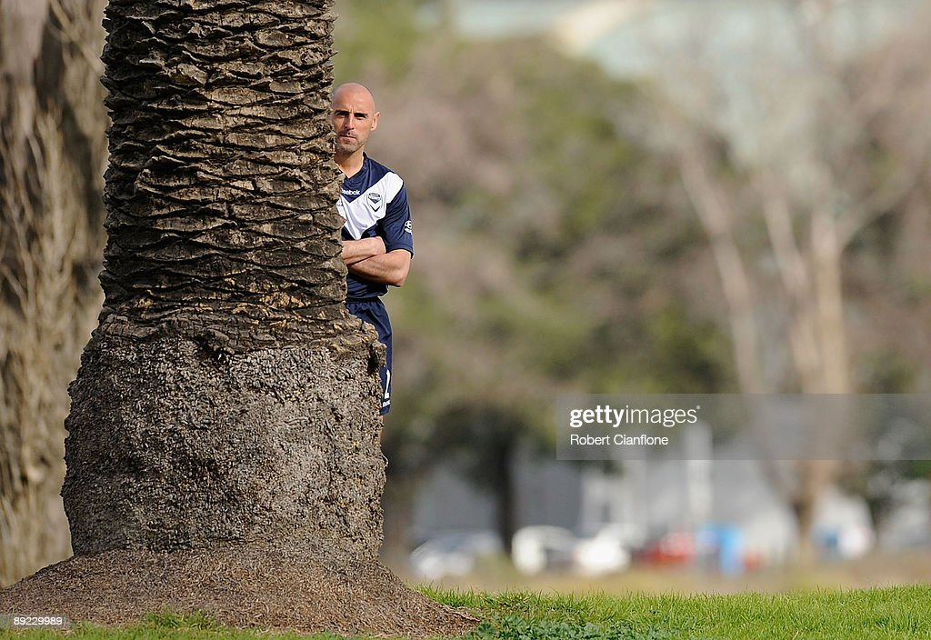 Melbourne Victory Shoot Television Commercial : News Photo