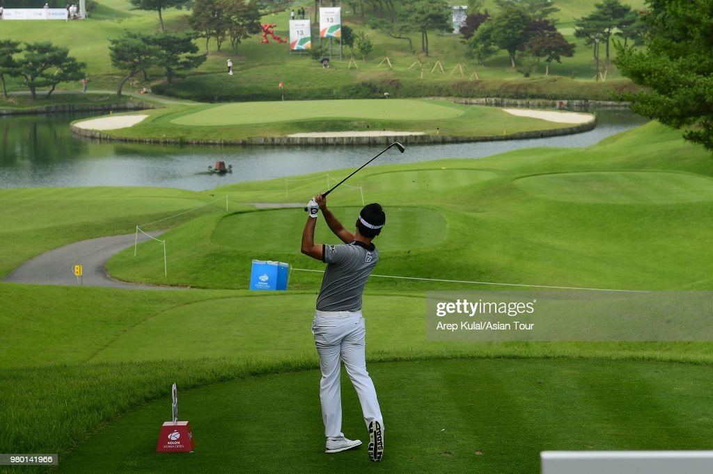 Kolon Korea Open Golf Championship - Round One