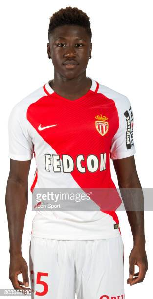 Kevin Ndoram of As Monaco during official photo shooting of As Monaco Ligue 1 on September 15th 2016 in Monaco