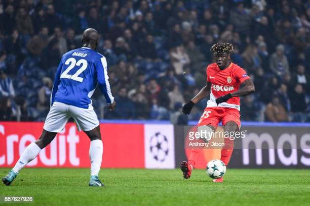 Kevin N'doram of Monaco during the Uefa Champions League match between Fc Porto and As Monaco at Estadio do Dragao on December 6 2017 in Porto...