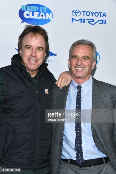 Kevin Nealon and Robert F Kennedy Jr at 5th Annual Keep It Clean Live Comedy Benefit For Waterkeeper Alliance at Largo At The Coronet on February 21...