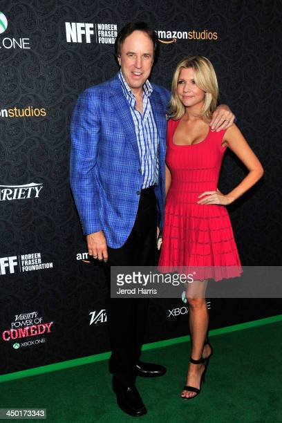 Kevin Nealon and Susan Yeagley arrive at Variety's 4th Annual Power of Comedy at the Avalon on November 16 2013 in Hollywood California