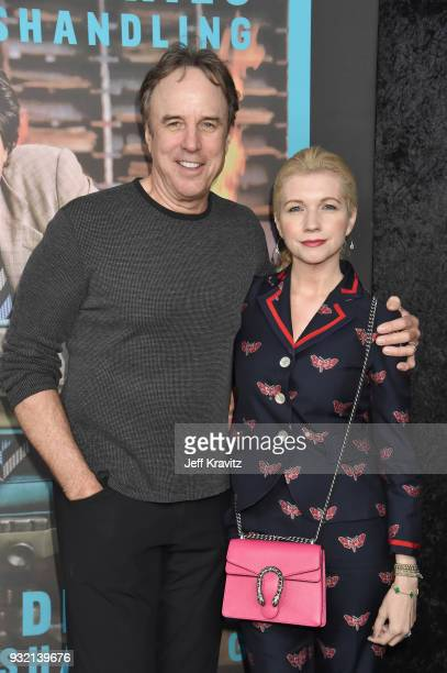 Kevin Nealon and Susan Yeagley attend the screening of HBO's The Zen Dairies of Garry Shandling at Avalon on March 14 2018 in Hollywood California'