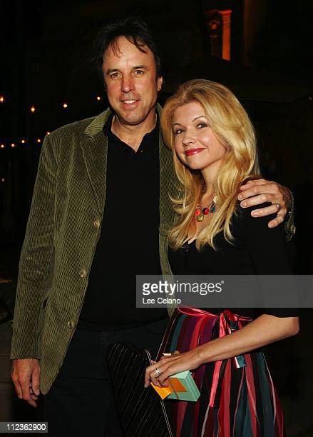 Kevin Nealon and wife Susan Yeagley during 'Curb Your Enthusiasm' Season 5 Los Angeles Premiere Red Carpet at Paramount Studios in Hollywood...