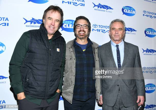 Kevin Nealon Ray Romano and Robert F Kennedy Jr at 5th Annual Keep It Clean Live Comedy Benefit For Waterkeeper Alliance at Largo At The Coronet on...